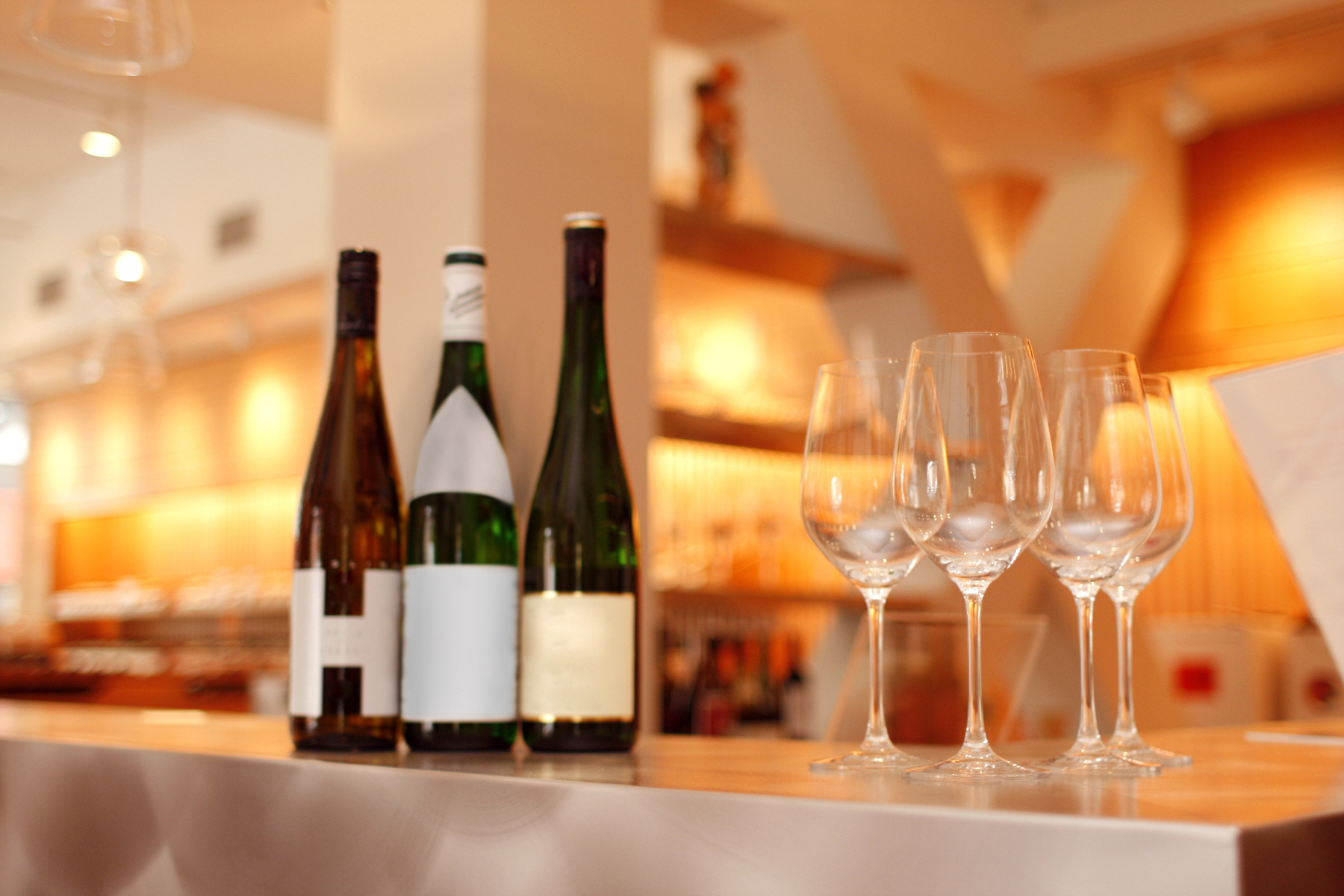 Wine Tasting at a Trendy New York City Bar