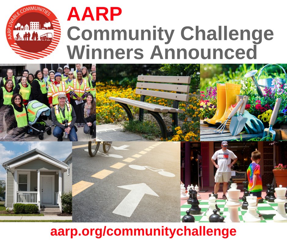 AARP Indiana Community Challenge Takes Quick Action in Indiana