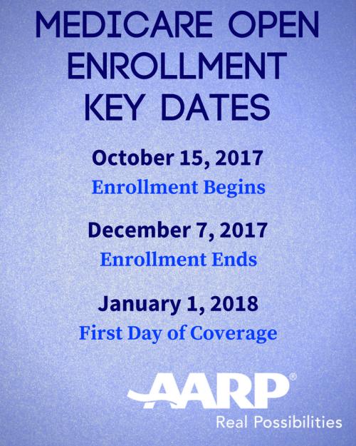 Medicare Open Enrollment 2017