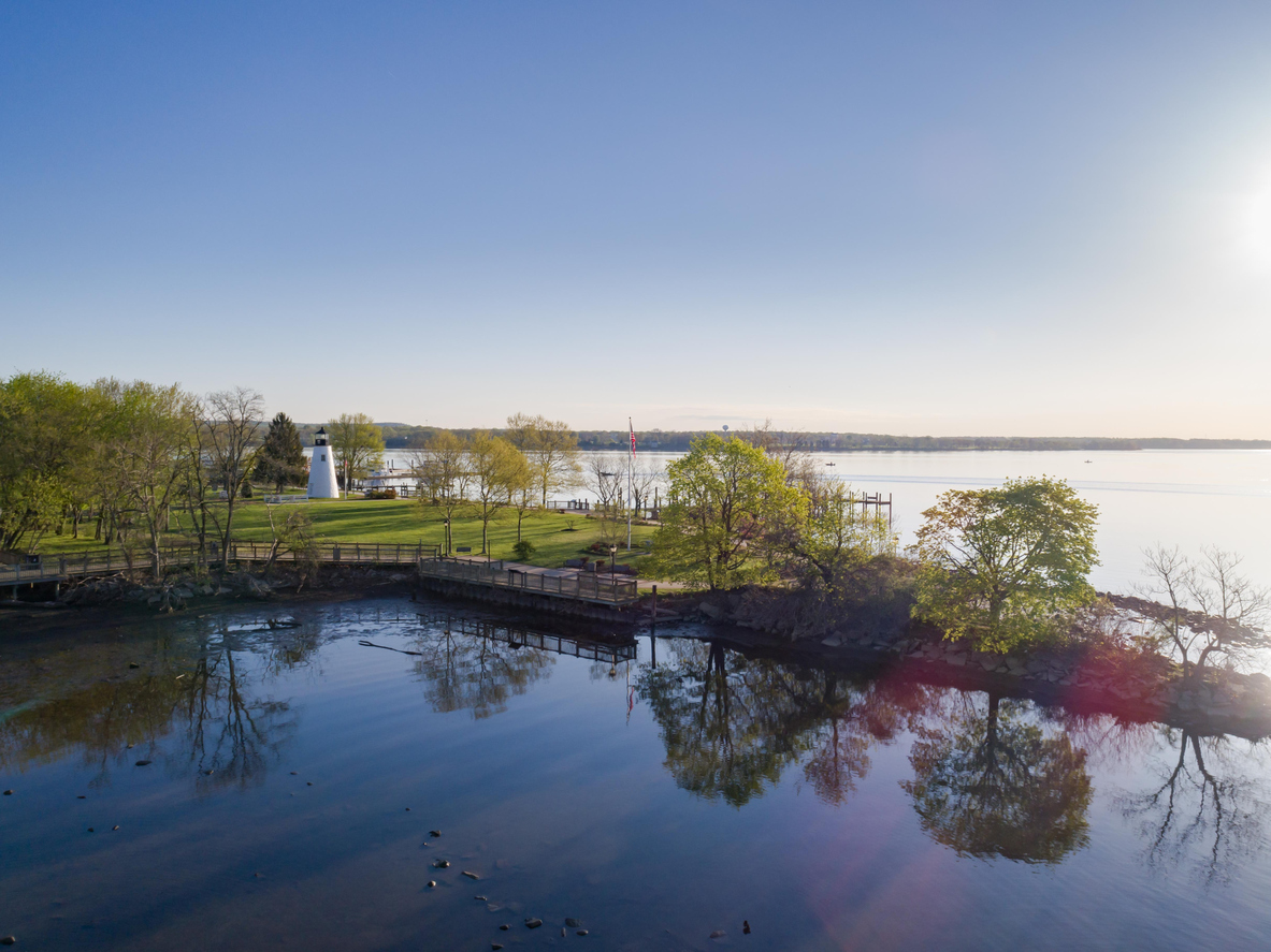 Aerial view of Concord Point, MD