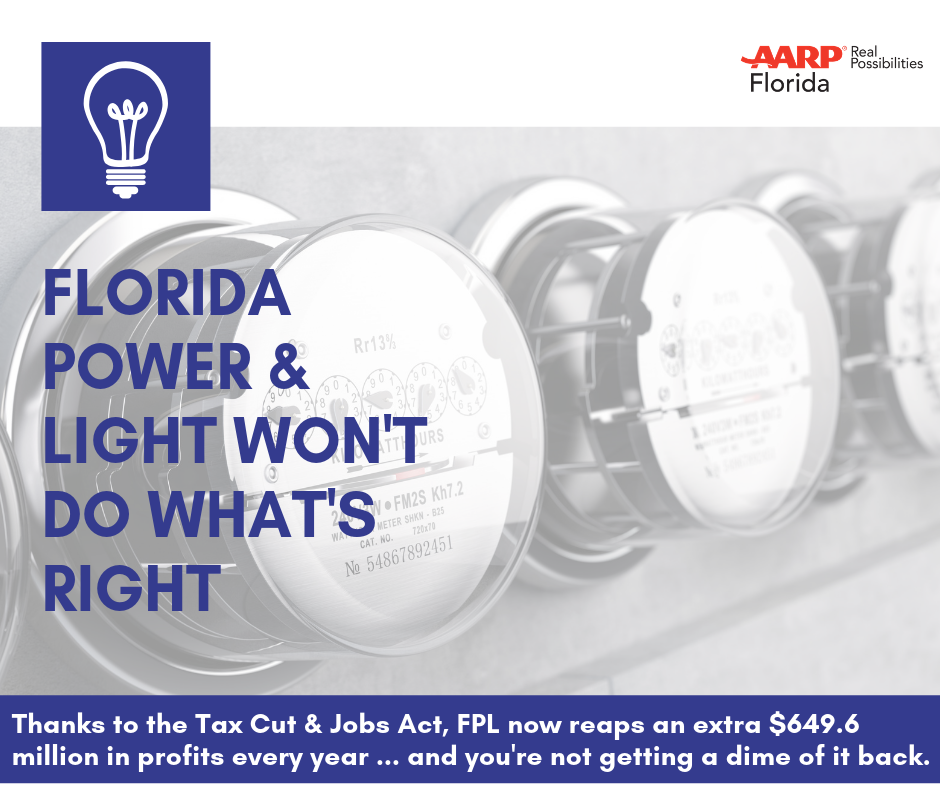 Stop FPL: Tell the Public Service Commission You Deserve Lower Rates