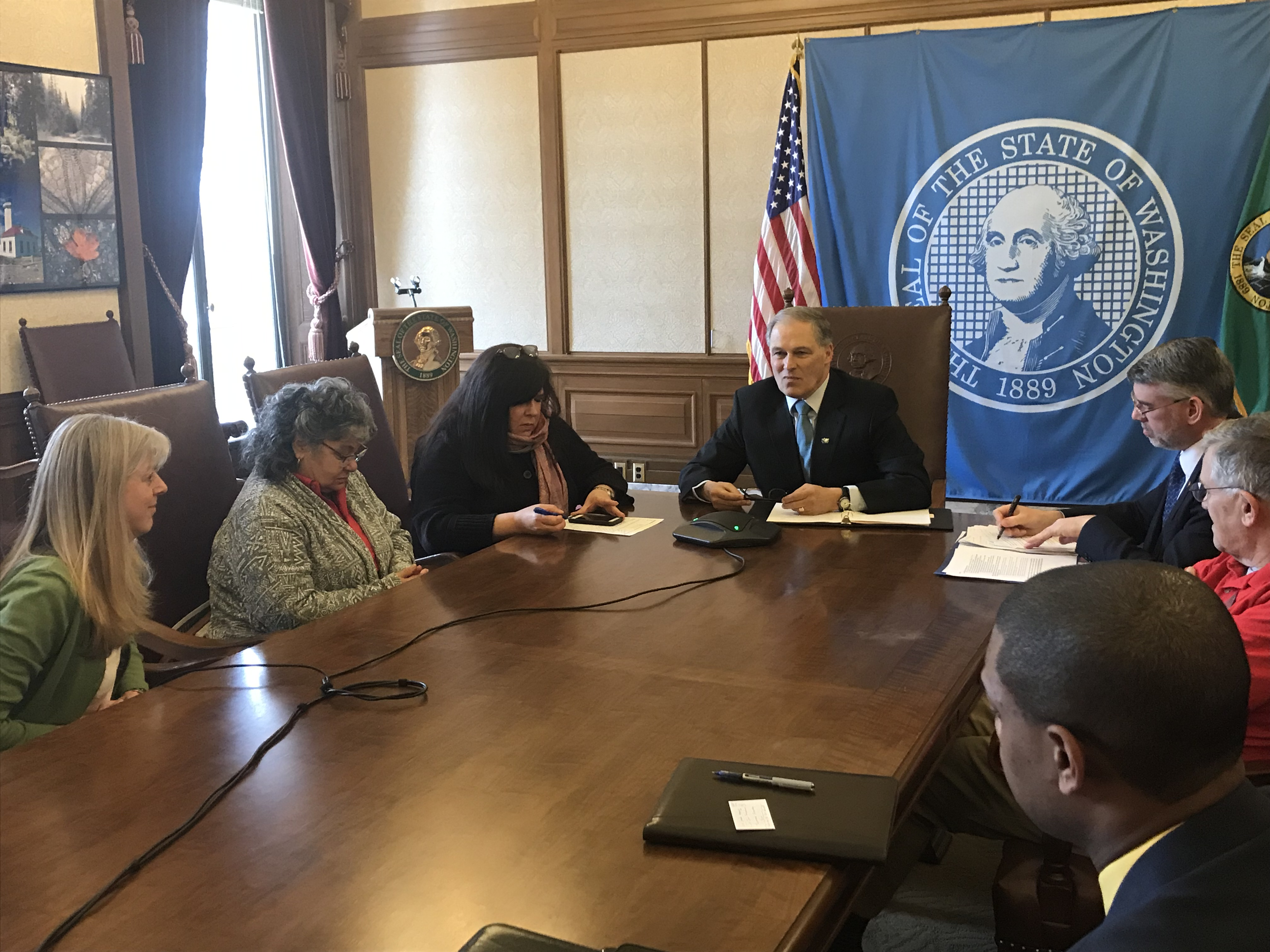 Disability Advocates Sharply Critical >> Governor Inslee Discusses Critical Issues Facing Washingtonians On