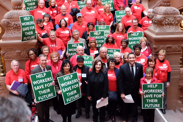 AARP Lobby Day: Volunteers Urge Retirement Savings, Elder Financial Protection, Caregiver Help