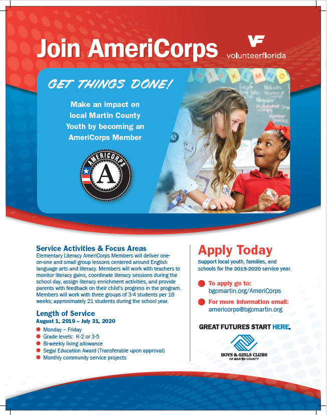 Volunteer Opportunity: AmeriCorps