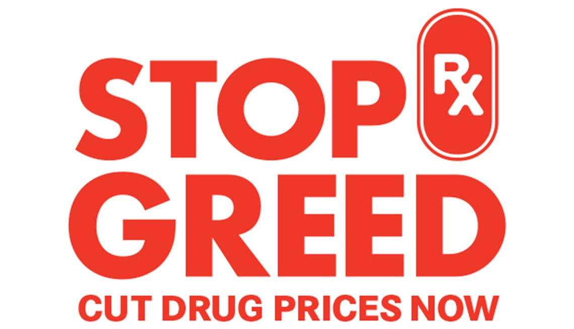 Stop Rx Greed: Cut Drug Prices Now