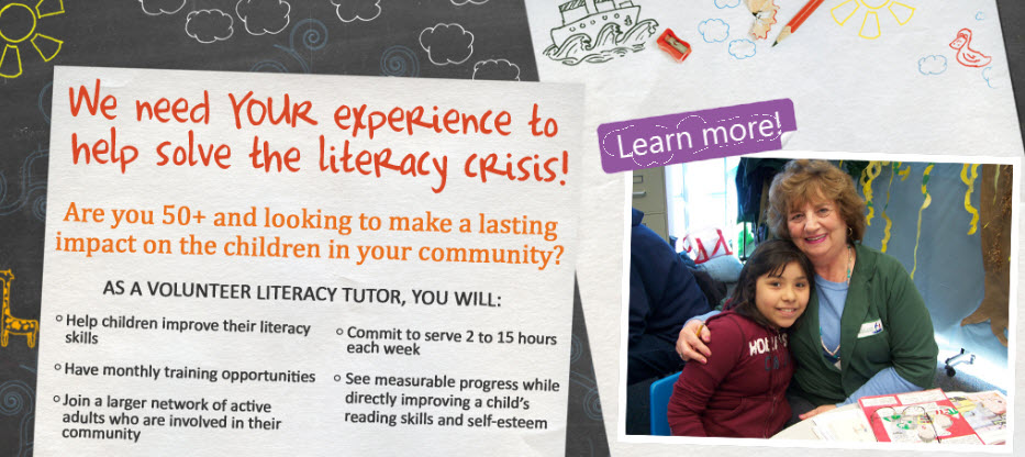 Help Improve a Child's Reading and Literacy Skills: Volunteer with GenInc