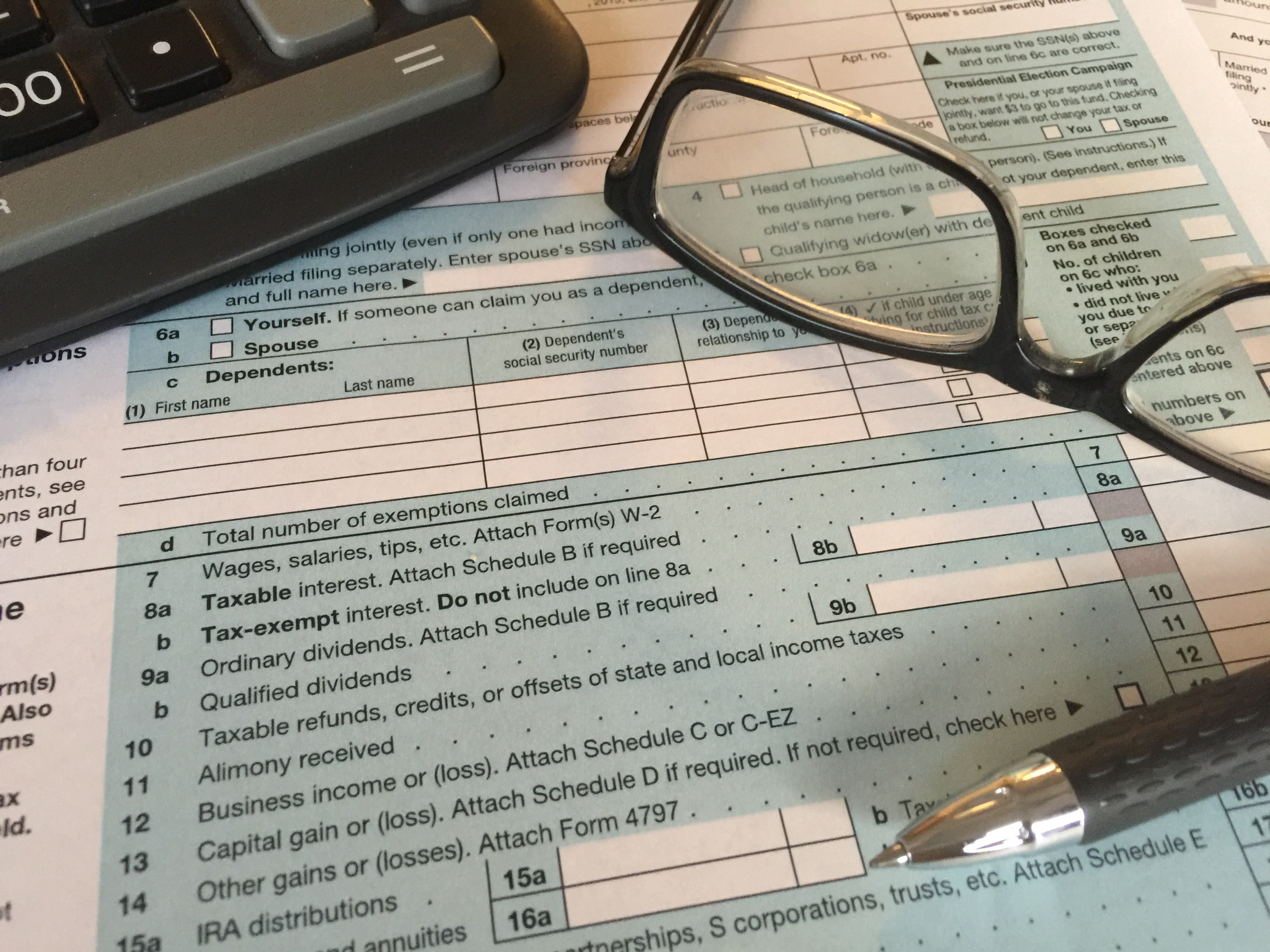 Tax forms (2)