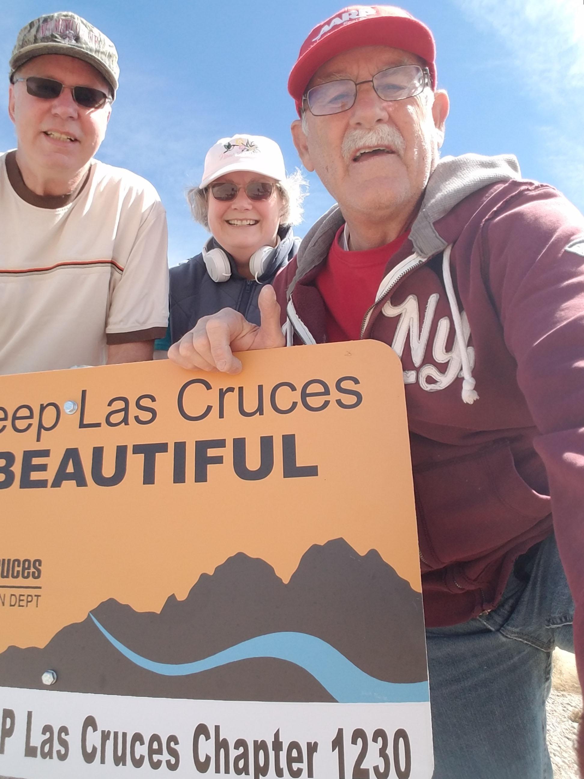 AARP Las Cruces Talks Trash!
