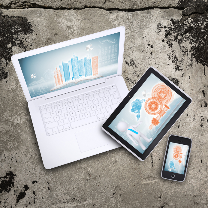 Laptop, tablet pc and smart phone