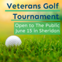 Sheridan Area To Host Veterans Golf Tournament June 15