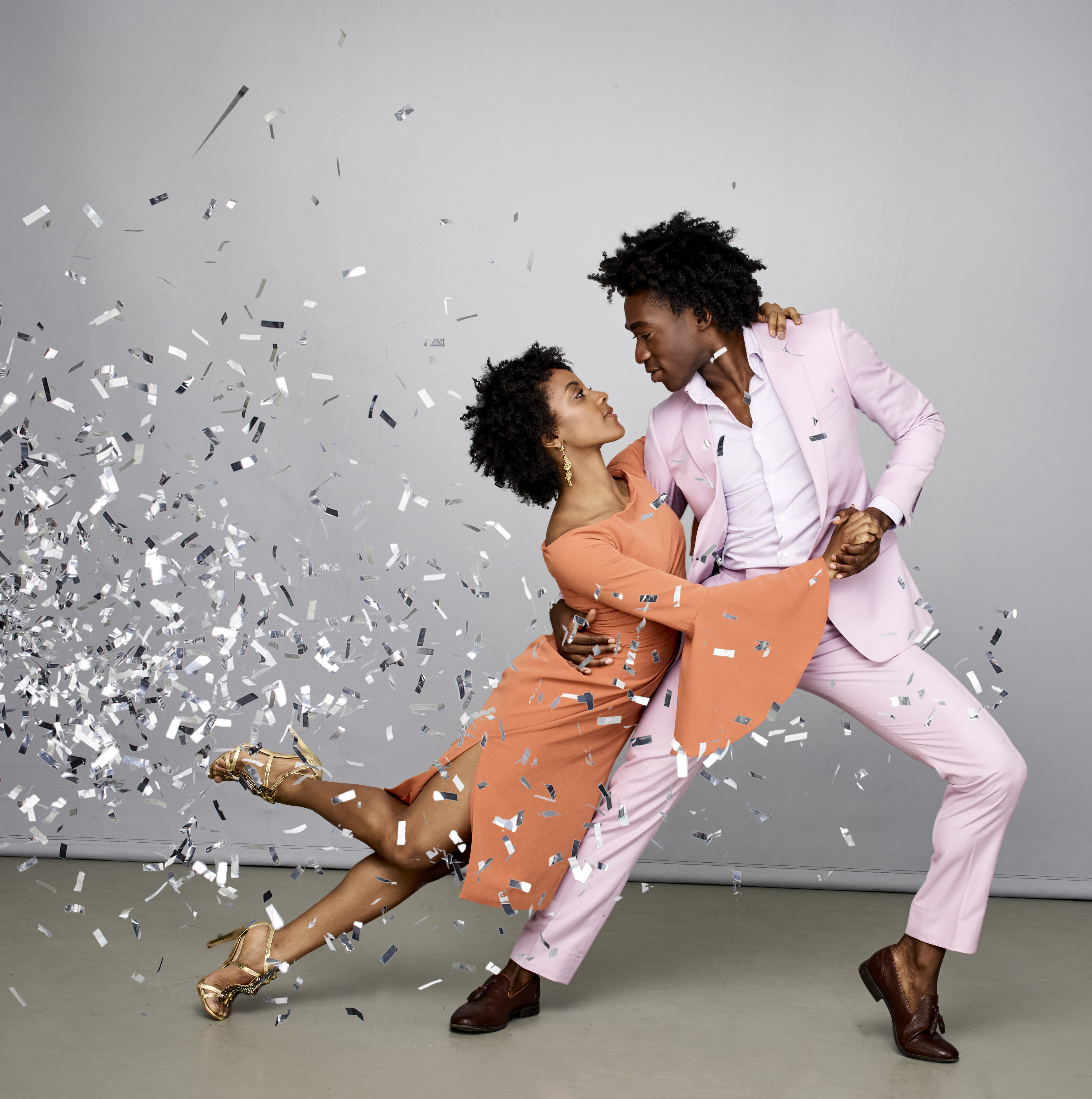 Alvin Ailey American Dance Theater's Jacquelin Harris. Photo by Andrew Eccles Confetti