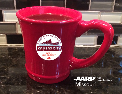 Enjoy a FREE cup of coffee with AARP