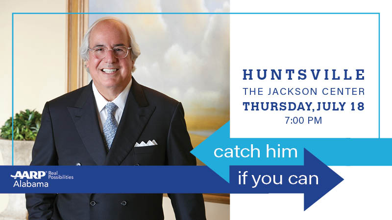 Catch Him if You Can Huntsville: A Night with Identity Theft Expert Frank Abagnale