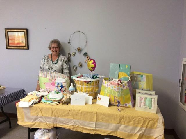 Las Cruces AARP Chapter Conducts Baby Shower