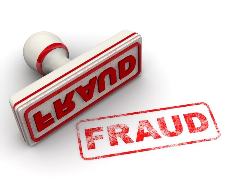 Fraud. Seal and imprint