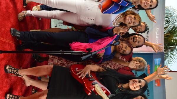 Photo Latino volunteers and staff, Juanga concert