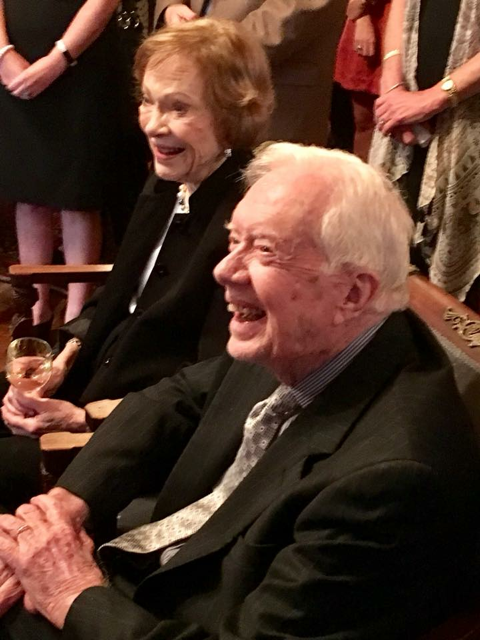 President and Mrs. Carter photo