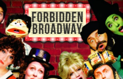 "Join us in Bellport for ""Forbidden Broadway"""