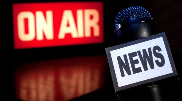 News Microphone On-Air