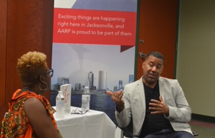 Musician, Entrepreneur Shares Notes on Success at Jax JazzFest