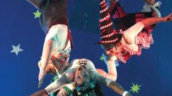 Flying acrobats