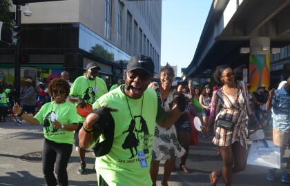 AARP volunteers rock Jacksonville Jazz Festival during Memorial Day 2019