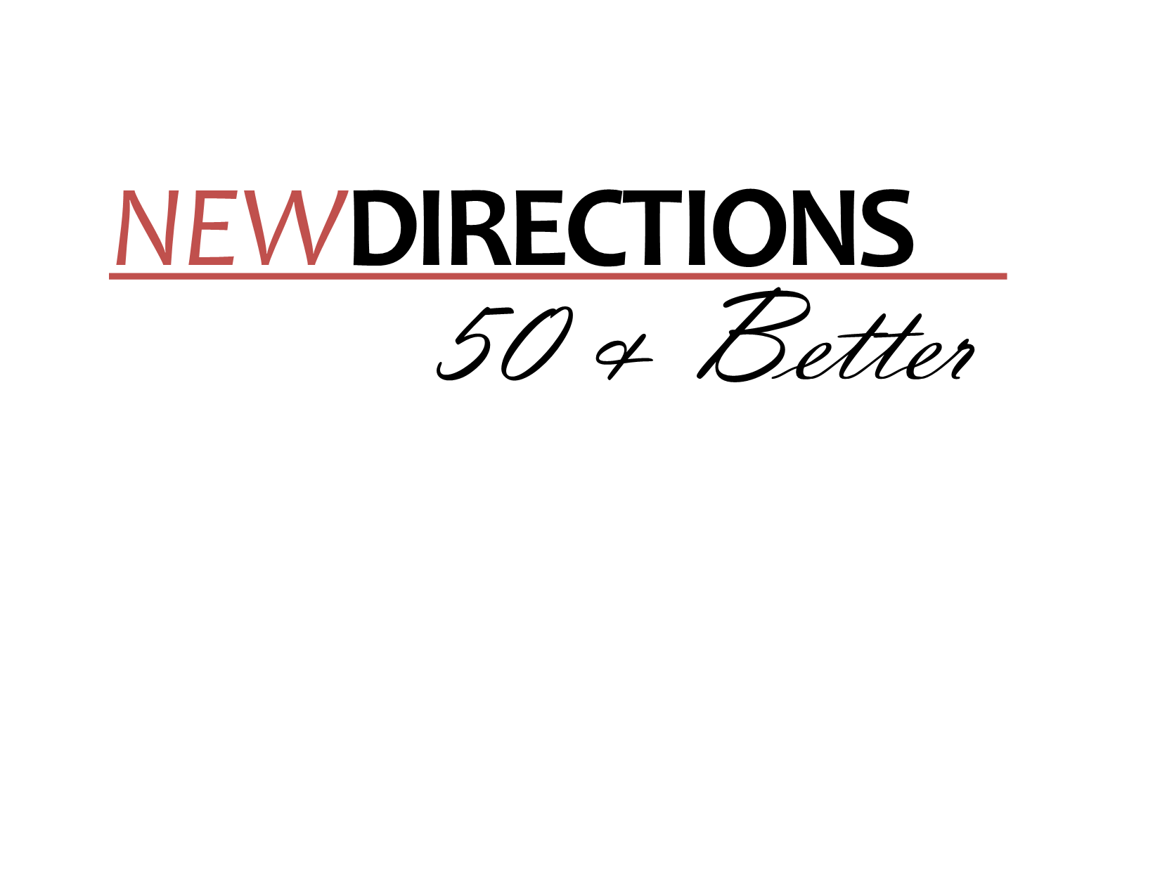 New Directions - 50 & Better