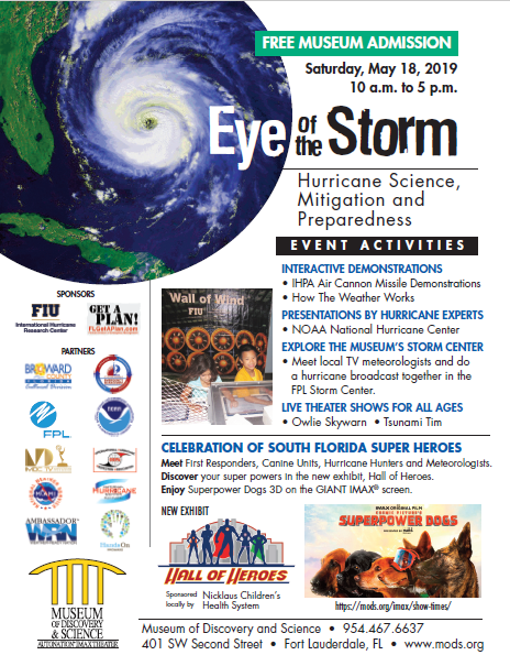 Eye of the Storm: Ciencia de Huracanes, Mitigación dey Preparación Evento